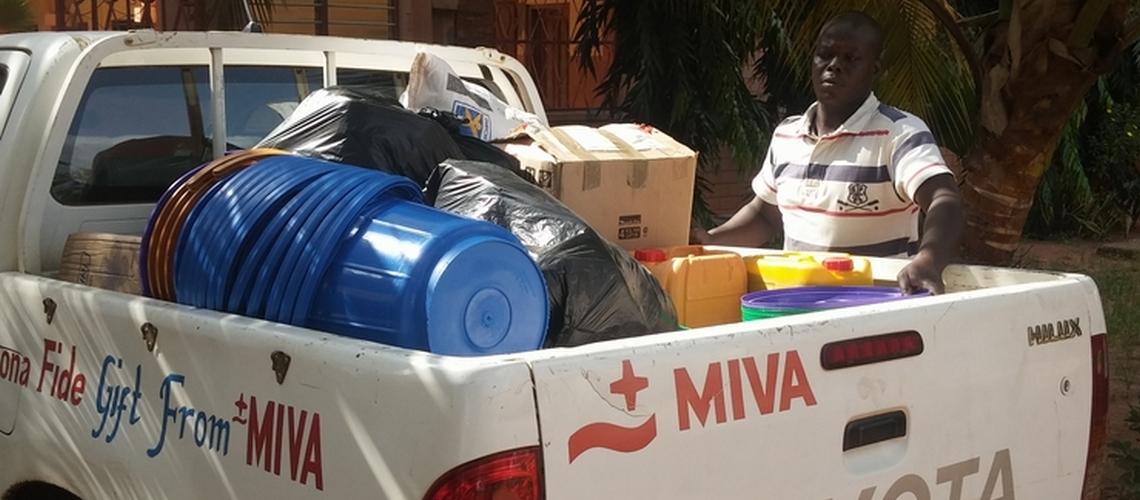 don à la prison civile de lomé